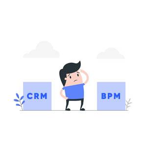 تفاوت های CRM و BPM